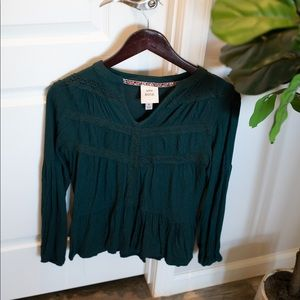 Knox Rose from Target Emerald Green Top